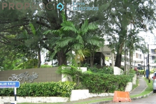 Condominium For Rent in Bangsar Heights, Bangsar Freehold Fully Furnished 2R/2B 2.3k