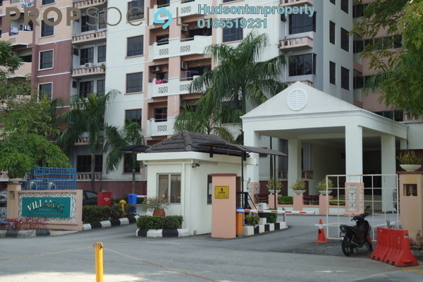 Condominium For Sale in Villamas Apartment, Bandar Puchong Jaya Freehold Semi Furnished 3R/2B 320k