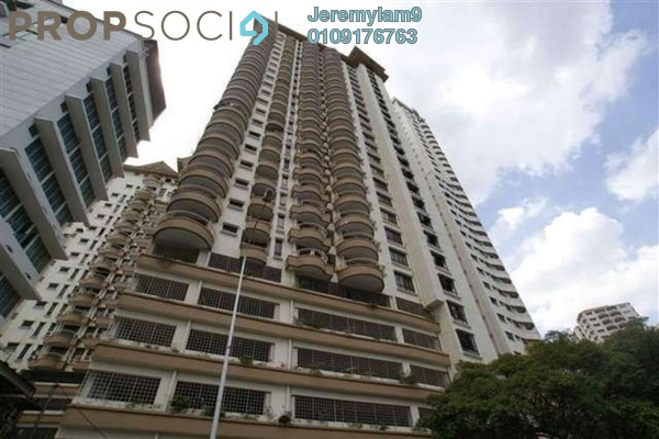 For Rent Condominium at Mutiara Villa, Bukit Ceylon Freehold Fully Furnished 1R/1B 2.1k