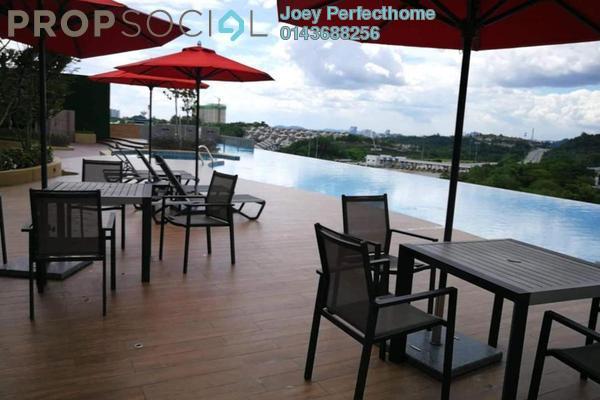 Condominium For Sale in Sutera Pines, Bandar Sungai Long Freehold Unfurnished 3R/2B 498k