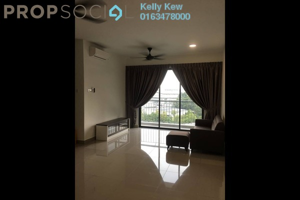 For Rent Condominium at Parkhill Residence, Bukit Jalil Freehold Fully Furnished 3R/2B 2.5k