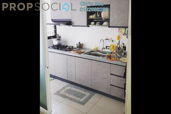 Condominium For Rent in Ken Rimba, Shah Alam Freehold Semi Furnished 3R/2B 1.5k