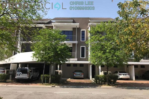 Terrace For Sale in Lake Edge, Puchong Freehold Fully Furnished 5R/5B 1.33m
