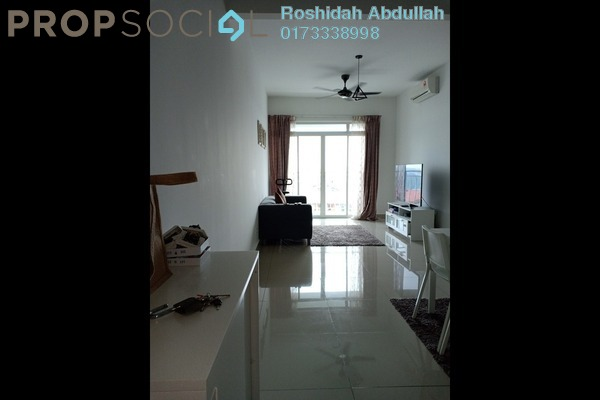 Serviced Residence For Rent in V-Residensi 2, Shah Alam Freehold Semi Furnished 2R/2B 1.4k
