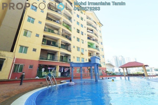 Condominium For Sale in Mandy Villa, Segambut Freehold Semi Furnished 3R/2B 340k