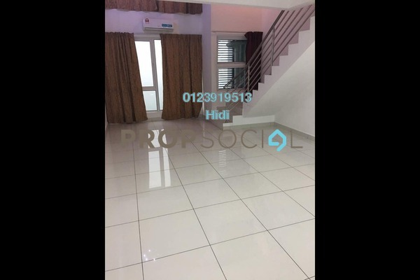 Duplex For Rent in De Centrum City, Kajang Freehold Unfurnished 0R/2B 1.4k