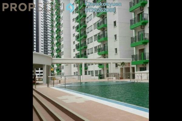 Serviced Residence For Sale in OUG Parklane, Old Klang Road Freehold Semi Furnished 4R/2B 365k