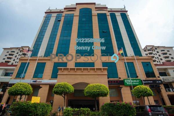 Office For Rent in SS6, Kelana Jaya Freehold Semi Furnished 0R/0B 16k