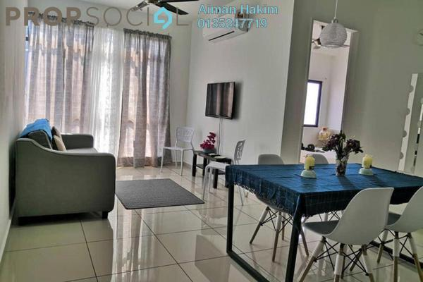 Serviced Residence For Rent in Kenwingston Square Garden, Cyberjaya Freehold Fully Furnished 2R/1B 1.4k