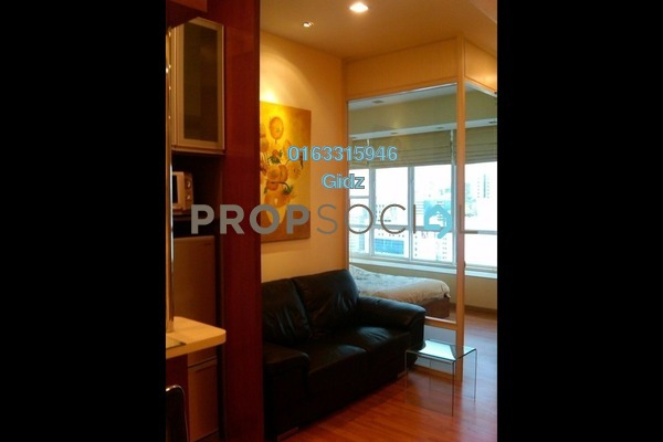 Apartment For Sale in Park View, KLCC Freehold Fully Furnished 1R/1B 530k