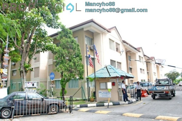 Apartment For Sale in Iris Apartment, Taman Desa Freehold Semi Furnished 2R/2B 240k