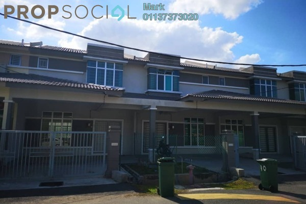 Terrace For Rent in Taman Merdeka Jaya, Batu Berendam Freehold Unfurnished 3R/3B 950translationmissing:en.pricing.unit