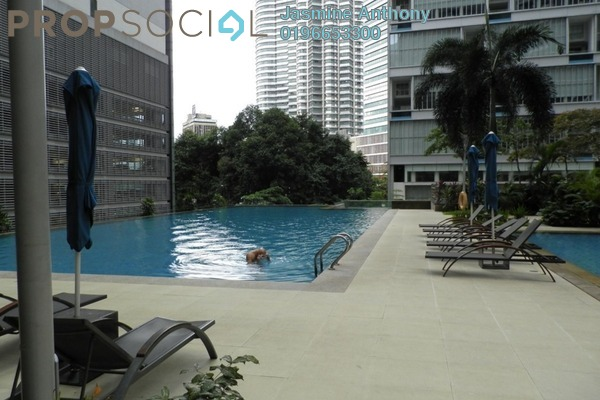 Serviced Residence For Rent in Marc Service Residence, KLCC Freehold Fully Furnished 1R/1B 2.8k