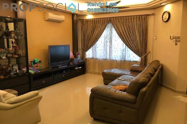 排屋 单位出售于 Seri Utama, Kota Damansara Freehold Semi Furnished 4R/3B 950.0千