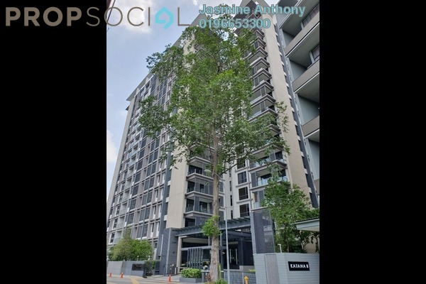 Serviced Residence For Rent in Rimbun, Ampang Hilir Freehold Semi Furnished 4R/6B 18k