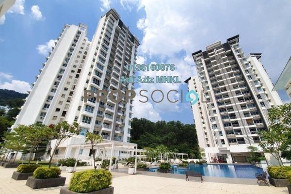 Duplex For Sale in 3 Residen, Melawati Freehold Fully Furnished 3R/3B 950k
