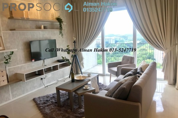 Serviced Residence For Rent in Verdi Eco-dominiums, Cyberjaya Freehold Fully Furnished 2R/2B 2.5k