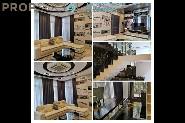 Bungalow For Sale in Setia Eco Park, Setia Alam Freehold Fully Furnished 5R/4B 2.8m