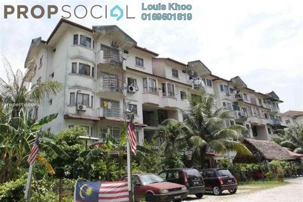 Condominium For Sale in Kenari Court, Pandan Indah Freehold Unfurnished 3R/2B 340k