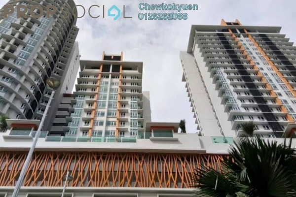 Serviced Residence For Rent in Tiara Mutiara 2, Old Klang Road Freehold Semi Furnished 3R/2B 1.5k