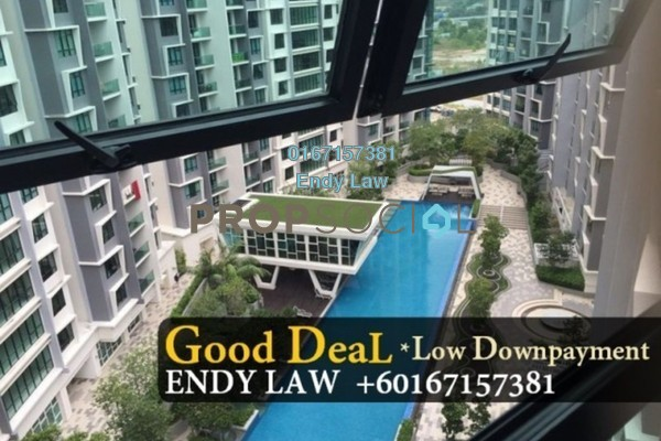 Apartment For Sale in Impiana Apartment, Kepong Freehold Semi Furnished 3R/2B 510k