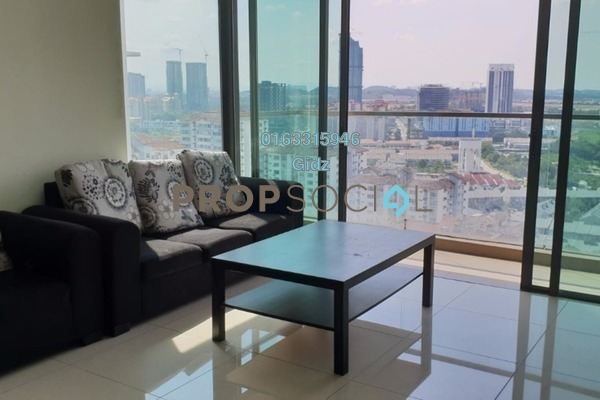 Condominium For Rent in The Z Residence, Bukit Jalil Freehold Semi Furnished 3R/2B 1.6k