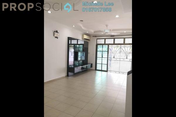 Terrace For Rent in Taman Desa Cemerlang, Ulu Tiram Freehold Semi Furnished 4R/3B 1.4k