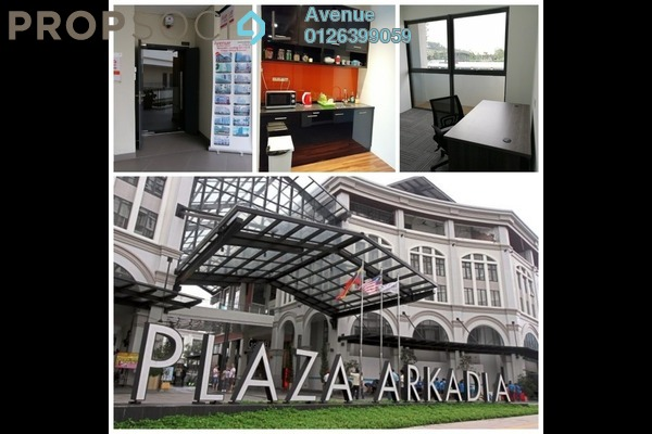 Office For Rent in Plaza Arkadia, Desa ParkCity Freehold Fully Furnished 0R/1B 1.2k