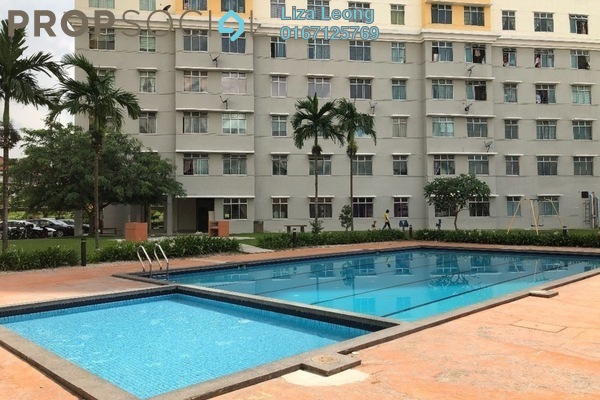 For Sale Apartment at Indah Court Apartment, Bukit Indah Freehold Semi Furnished 3R/2B 270k