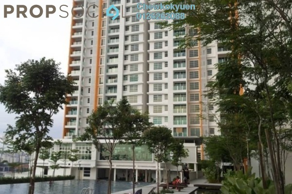 Serviced Residence For Rent in The Zest, Bandar Kinrara Freehold Semi Furnished 3R/2B 1.3k