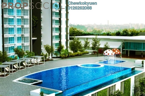 Serviced Residence For Sale in Greenpark, Old Klang Road Freehold Semi Furnished 3R/2B 445k
