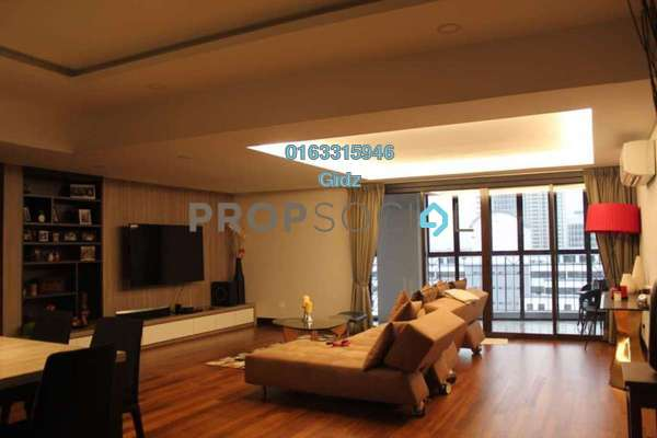 Condominium For Sale in Lanai Kiara, Mont Kiara Freehold Fully Furnished 4R/3B 2.5m