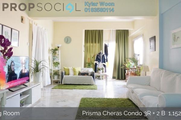 Condominium For Sale in Prisma Cheras, Cheras Freehold Semi Furnished 3R/2B 440k