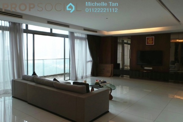 Duplex For Rent in Stonor Park, KLCC Freehold Fully Furnished 4R/5B 14k