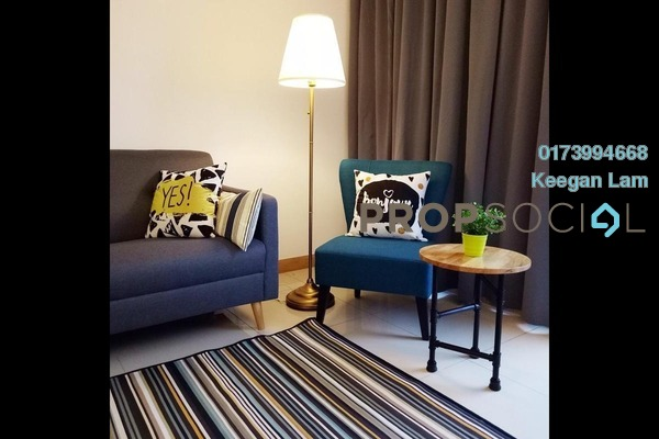 Serviced Residence For Sale in KL Gateway, Bangsar South Freehold Fully Furnished 2R/2B 900k