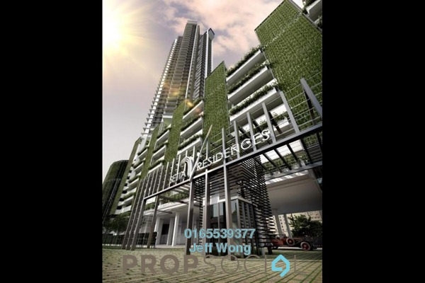 Condominium For Sale in Setia V Residences, Gurney Drive Freehold Unfurnished 2R/2B 2.1m
