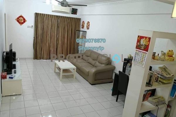 Apartment For Sale in Taman Damai Impian 2, Bandar Damai Perdana Freehold Semi Furnished 3R/2B 338k