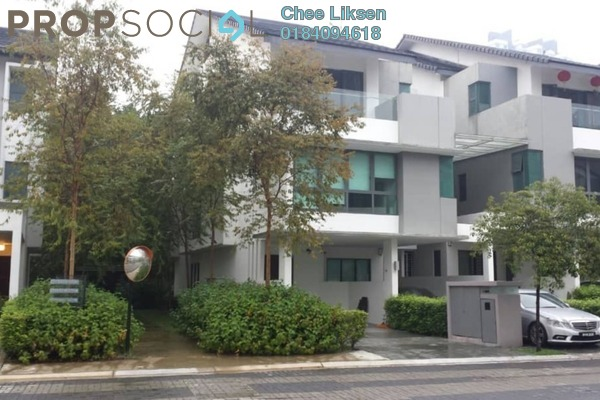 Townhouse For Sale in Sunway SPK 3 Harmoni, Kepong Freehold Semi Furnished 4R/4B 1.34m