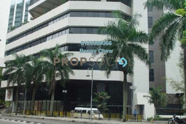 For Rent Office at Plaza See Hoy Chan, Bukit Ceylon Freehold Semi Furnished 0R/0B 7.8k