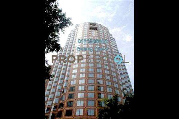 For Rent Office at Menara HLX (formerly Menara HLA), KLCC Freehold Semi Furnished 0R/0B 15.5k