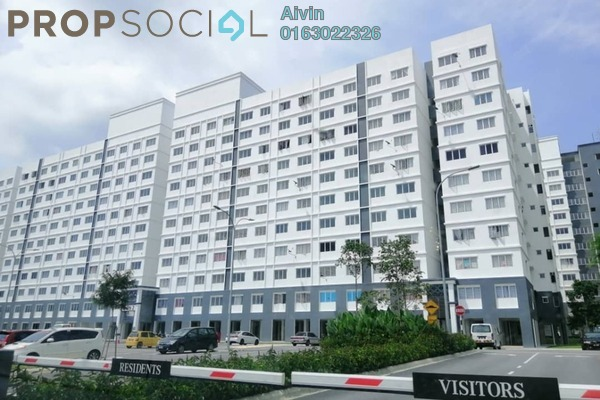 Apartment For Rent in Eco Majestic, Semenyih Freehold Unfurnished 3R/2B 550translationmissing:en.pricing.unit