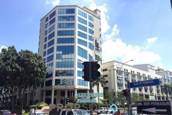 Office For Rent in Plaza Dwitasik, Bandar Sri Permaisuri Freehold Semi Furnished 0R/1B 2.1k
