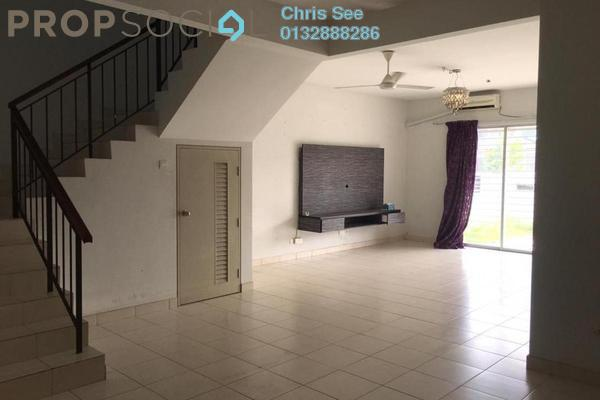 Terrace For Rent in Oleander, Bandar Seri Coalfields Freehold Semi Furnished 4R/4B 1.3k
