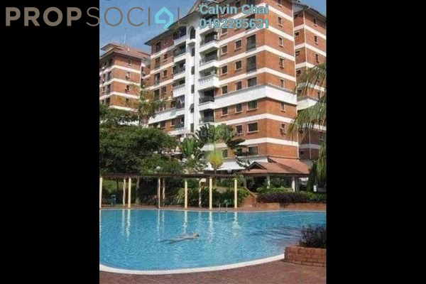 Condominium For Rent in Evergreen Park, Bandar Sungai Long Freehold Semi Furnished 3R/2B 1k