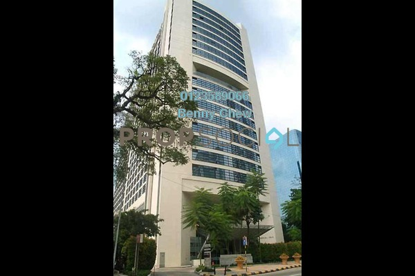 Office For Rent in Plaza 138, KLCC Freehold Semi Furnished 0R/0B 3.6k