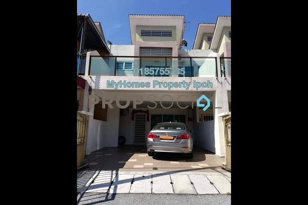 Link For Sale in Taman Perpaduan Koperasi, Tambun Freehold Semi Furnished 4R/4B 428k