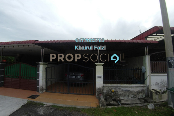 Terrace For Sale in Taman Flora Utama, Batu Pahat Freehold Semi Furnished 3R/2B 260k