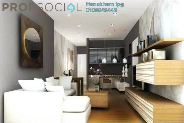 Condominium For Sale in Kaleidoscope, Setiawangsa Freehold Semi Furnished 3R/2B 589k