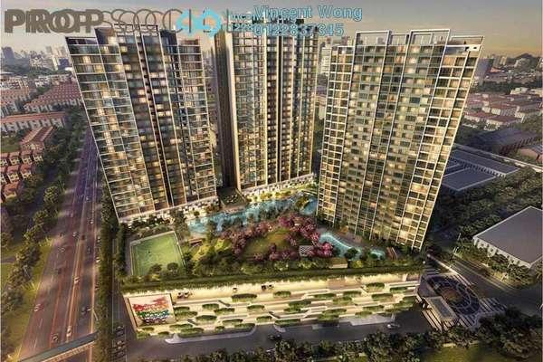 Serviced Residence For Sale in Sunway Mentari, Bandar Sunway Freehold Semi Furnished 2R/1B 445k