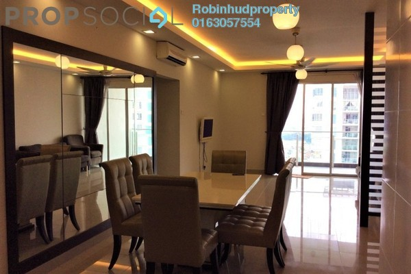 Condominium For Rent in Zen Residence, Puchong Freehold Semi Furnished 3R/2B 2k